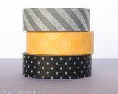Halloween Washi Tape Set // Masking Tape // Japanese Washi Tape // Deco Tape // Scrapbooking, Card Making, Planner, DIY