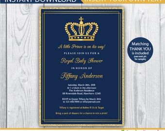 baby shower invitation boy royal invitation royal baby shower royal