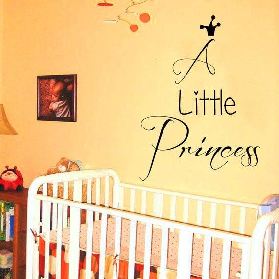 ... Room Decor Home Vinyl Art Baby Girl Bedding Nursery Room Decor KG726
