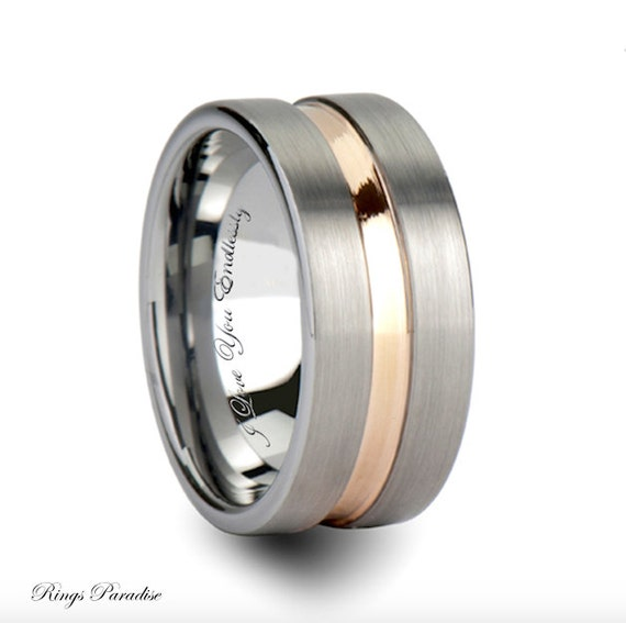 tungsten band promise rings tungsten engagement by