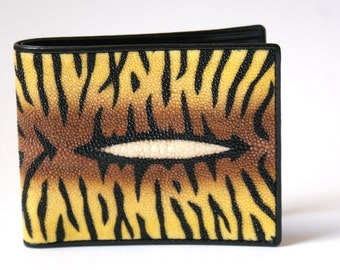 Tiger stingray wallet