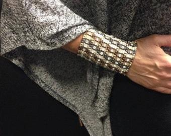 Vintage Barrel Stretch Bracelet