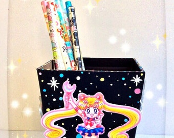 Sailor Moon Pencil Cup - Inner Sailor Scouts Version