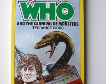 Vintage Doctor Who and the Carnival of Monsters Paperback 1977