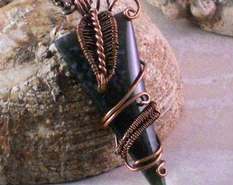 Wire Wrapped Tutorial: Vine Pendant