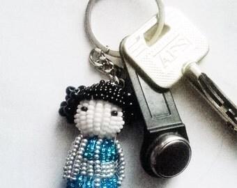 Kokeshi keychain