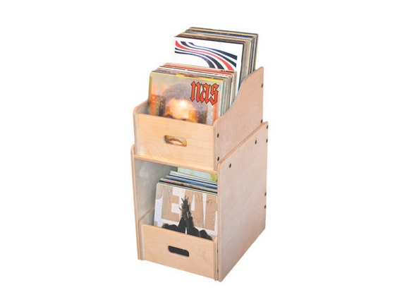 Diy vinyl record storage by vinylrecordstorageco on etsy for Diy vinyl storage