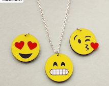 Image result for emoji necklace