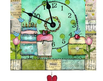 Cakes Clock