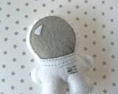 Little Astronaut Squatles Stuffed Felt Creature