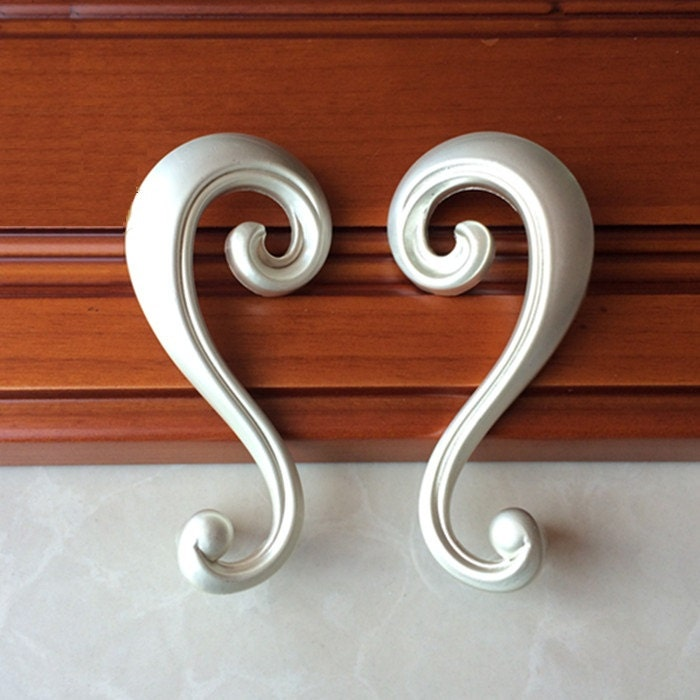 unique kitchen cabinet knobs and pulls pair of unique cabinet handles pulls symmetry pulls silver 27700
