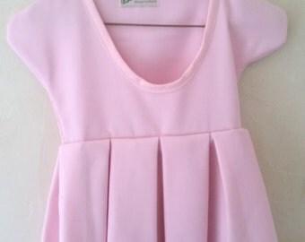 Pink Clothespin Bag Dress