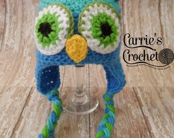 Crochet Little Hoot Owl Hat