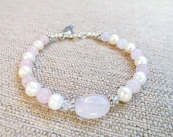 Miscarriage Bracelet, Memorial Bracelet - Forever in my Heart Preganacy Loss Bracelet, Infertility, Fertility, includes 4x6 quote print out!