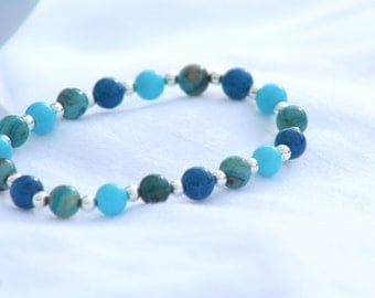 By the Sea Gemstone Bracelet
