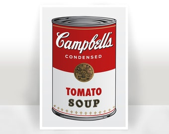 Campbell's Soup Art Print - Poster - Many Sizes