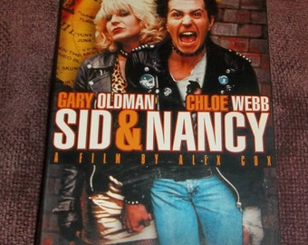 SID And NANCY 1986 VHS Video   Sex Pistols Vicious and Spungen Gary Oldman