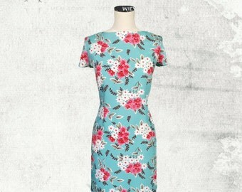 PDF Sewing Pattern Woman's Poppy T-Shirt Dress - D1402 Sizes 8-18