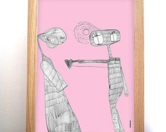 Poster E.T - rose