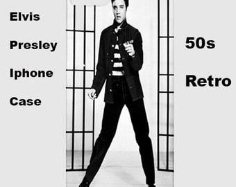 Elvis iphone case, iphone case, 50's, cover, retro, iphone 6, iphone 5, cover, iphone 6 plus, iphone 4