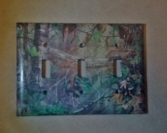 Camo wall decor etsy for Camo mural wall