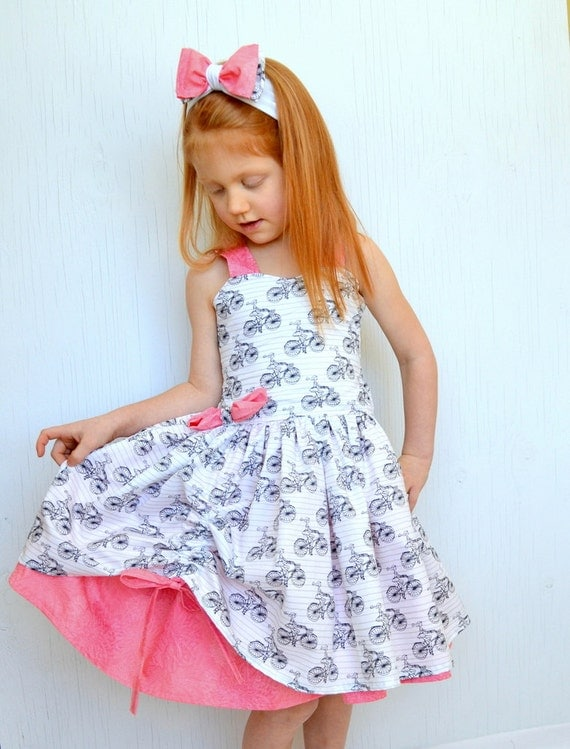 Twirl Dress Toddler Party DressGirls Boutique Dress Summer