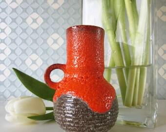 Little Vintage Fat Lava vase