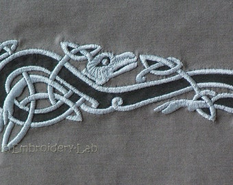 Celtic Motif 0002 - digital design for embroidery machine