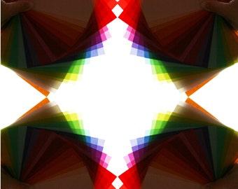 Translucent Origami Paper - 72 sheets Medium Sized (5 inch squares), Assorted Rainbow Pack Translucent Origami Paper - Unique