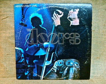 The Doors - Absolutely Live  - 19  Vintage Vinyl Gatefold 2 lp Record Album