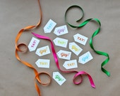 Yay! Gift Tags - 12 pack - Celebrate Collection