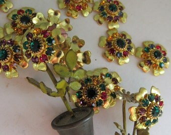 Swarovski Mixed Bouquet Crystal Flowers