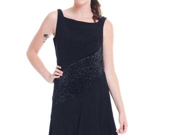 1960s Vintage Mr. Blackwell Little Black Dress  Size: S/M