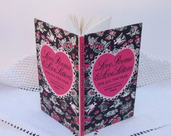 Vintage Gift Book . Love Poems & Love Letters For All The Year ~ Peter Pauper Press