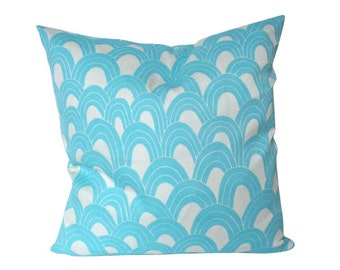 Pool Blue Arches - Indoor Outdoor Pillow Cover- Trina Turk for Schumacher