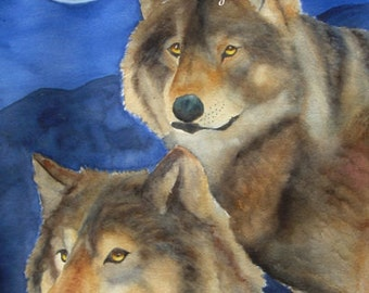 """Wolf Love Art - """"If You Find Someone"""""""
