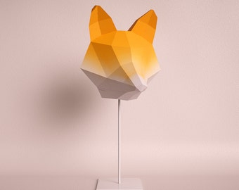 Penguin do it yourself paper lamp shade fox medium orange gradient do it yourself paper lamp shade solutioingenieria Image collections