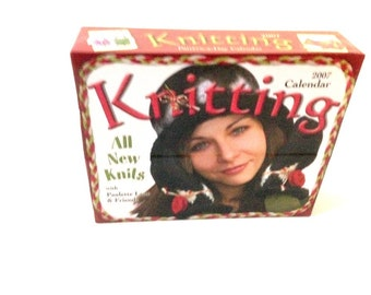 365 Knitting Pattern, Knitting Calendar, Scarf Patterns, Knitted novelties, Knitted shell, Knitted hat, Knitting book,