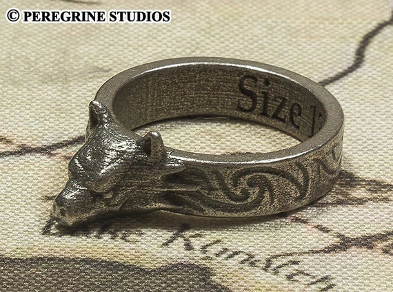 Hircine s Ring Sizes 6 13 Stainless Steel Polished