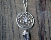 Silver plated Dream Catcher Necklace