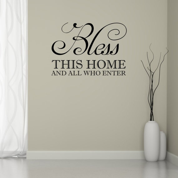 Bless This Home Wall Art - Elitflat