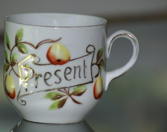 "Cup Germany ""Present"" Cup Shabby Chic Germany"