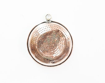 Round Turkish Copper Strainer