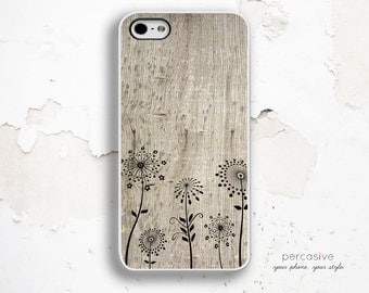 iPhone 5C Case, iPhone 6 Case Dandelions - iPhone 4 Case, iPhone 4s Case, iPhone 5s Case, Dandelion iPhone 5C Wood Case :0723