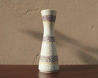 Vintage Vase from the 60s by Bay - West German Pottery - Mid Century Modern - Fat Lava era - 663-30