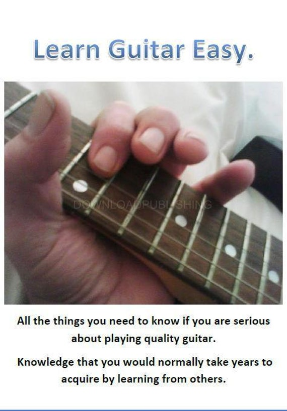 beginners guide to playing guitar pdf