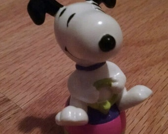 "Snoopy Easter Beagle Figurine 1.5"" Tall - - Now FREE Shipping on this item!"