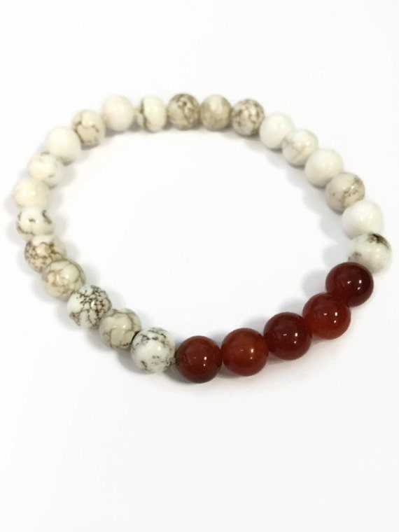 mens bracelet mens beaded stretch bracelet by julemijewelry