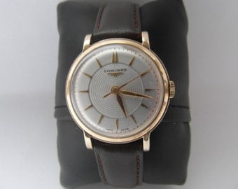 1953 9ct Gold Longines Mens Watch