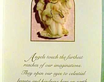 Vintage Limited Edition Roman Seraphim Classics Kneeling Angel Pin #70537